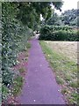 SZ0794 : Ensbury Park: footpath N29 from Cornish Gardens by Chris Downer