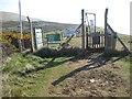 SY8279 : Lulworth Range entrance by Philip Halling
