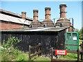 SU4924 : Three lime kilns from the south, Twyford Waterworks by Christine Johnstone