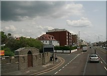 TQ2804 : Junction of Kingsway and Princes Crescent, Hove by Chris