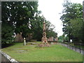 SJ7769 : War Memorial, St Luke's Church, Goostrey by JThomas