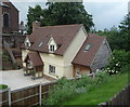 SJ7770 : House near St Luke's Church, Goostrey by JThomas