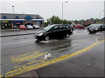 ST3090 : Burst water main, Malpas Road, Newport by Jaggery