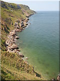 SH7783 : Coastline, Great Orme by Chris Andrews