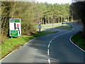 SO0160 : A4081 approaching Junction with A470 by David Dixon