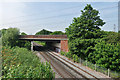 TQ0372 : Staines by-pass bridge by Alan Hunt