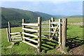 NX0673 : Kissing Gate on Coastal Footpath by Billy McCrorie