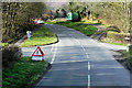 SN9566 : Aber Caethon Crossroads, B4518 by David Dixon