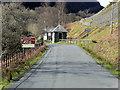 SN9364 : Access Road to Elan Valley Visitor Centre by David Dixon