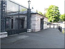 H8745 : Sangar entrance to Armagh Court House by Eric Jones