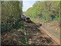SE2538 : Northbound train near Horsforth by Stephen Craven