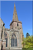 SO7137 : Spire at St Michael and All Angels by John M
