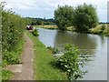 SP9027 : Towpath along the Grand Union Canal by Mat Fascione