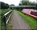 SP9125 : Mardle Road Footbridge by Mat Fascione