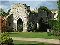 TQ0213 : Amberley - Ruins of former bishop's residence by Rob Farrow