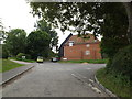 TM0948 : Church Lane, Somersham by Adrian Cable