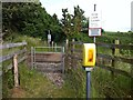 SX9498 : Sandy Lane level crossing by Hugh Craddock
