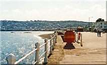 SW4629 : Penzance (Wherry Town), towards Newlyn, 1995 by Ben Brooksbank