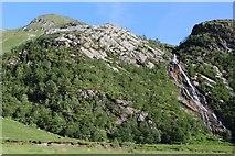 NN1868 : Steall Waterfall by Leslie Barrie