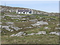 NF7814 : House on South Uist by M J Richardson