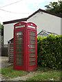 TM0846 : Telephone Box off Tye Lane by Adrian Cable