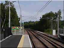 SE2436 : The north-west of platform 2, Kirkstall Forge Station by Rich Tea