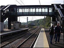 SE2436 : The bridge, Kirkstall Forge Station by Rich Tea