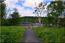 SE2436 : Kirkstall Forge Station by Mark Stevenson