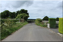 NX4355 : Approaching Wigtown High Cemetery by Billy McCrorie