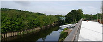 SE2436 : The River Aire at Kirkstall Forge by Rich Tea