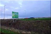 NS4565 : A737 sign by Richard Webb