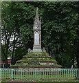 TQ2983 : Sundial and fountain, St Pancras Gardens by Julian Osley
