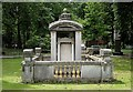 TQ2983 : Soane mausoleum, St Pancras Gardens by Julian Osley