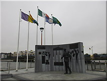 S7127 : Kennedy monument, New Ross by Jonathan Thacker