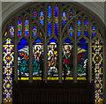 TF8709 : East window, All Saints' church, Necton by Julian P Guffogg