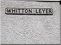 TM1246 : Whitton Leyer sign by Adrian Cable