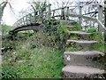 SE2159 : Footbridge  over  the  River  Nidd by Martin Dawes