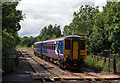 NY7764 : 156448 approaching Bardon Mill station - June 2016 by The Carlisle Kid