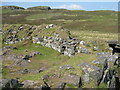 NG3338 : The entrance to Dùn Beag broch by M J Richardson
