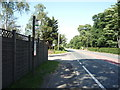 NY3552 : Bus stop on the A595, Orton Grange by JThomas