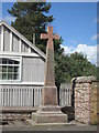 NT9249 : Refurbished War Memorial by David Chatterton