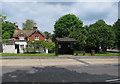 SU3008 : Bus stop, Lyndhurst by Hugh Venables