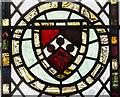 TG0010 : Medieval glass detail, St Peter's church, Yaxham by Julian P Guffogg