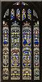 TG1124 : Stained glass window, Ss Peter & Paul church, Salle by Julian P Guffogg