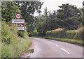 TG0922 : Dereham Road enters Reepham by J.Hannan-Briggs