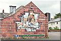 J3471 : Pizza wall advertisement, Belfast (June 2016) by Albert Bridge
