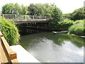 TF2628 : A16 crossing River Glen by Alex McGregor