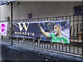 J5081 : Euro 2016 banner, Bangor by Rossographer