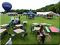SP0601 : Ampney Crucis Village Fete, Cricket Club field by Vieve Forward
