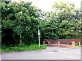 SZ0796 : Kinson: footpath E46 from Hyde Road by Chris Downer